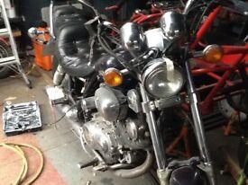 Yamaha 1100 virago spares or repair starts and runs