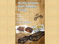 ANY CUSTOM DESIGN WOODEN FURNITURE/ITEM quality and handmade form real wood