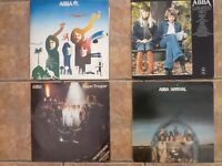 ABBA , 4 off original vinyl albums