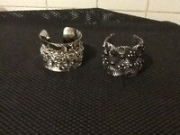 2 cuff bracelets. Brand new without tags