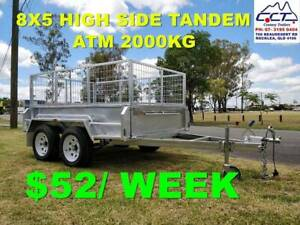 FREE REGO Take Home Layby 8x5 high side tandem IN STOCK