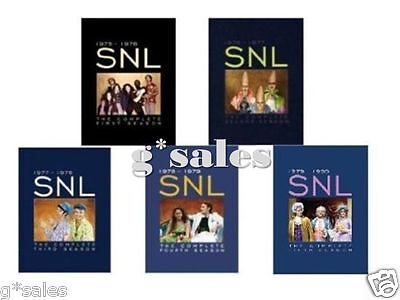 Saturday Night Live Snl Complete Season 1 5  1 2 3 4 5    New Dvd 37 Disc Set