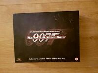 JAMES BOND LIMITED EDITION BOX SET.