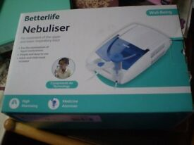 Brand New Betterlife Nebuliser