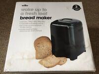 Boxed Brand New Wilko Black Bread Maker
