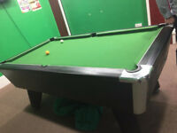 Supreme pool table for sale very very good condition 7ft
