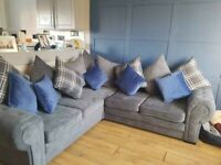 BRAND NEW SMALL VERONA CORNER OR 3+2 SEATER SOFA SET AVAILABLE IN STOCK ORDER NOW
