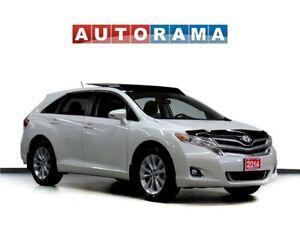 2014 Toyota Venza LTD 4WD NAVIGATION LEATHER SUNROOF BACK UP CAM