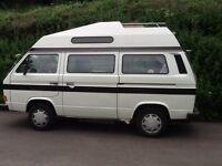 VW Autosleeper Trident Hightop. 1986 Water cooled 1.6 Turbo Diesel. 98k