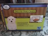Dog Cage ( Deluxe Dog Crate )