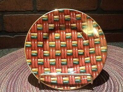Vintage Fitz and Floyd Fine Porcelain - Saucer - Basketry #416