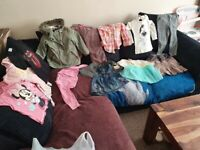 Bundle of cloths, girls, 2-3 years