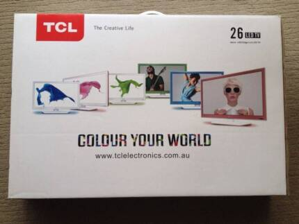 "BNIB 26"" LED TCL TELEVISION Bayswater Bayswater Area Preview"