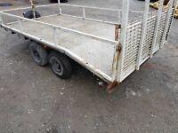 BRADLEY 3500kg beavertail plant , car trailer
