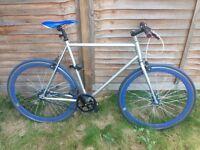 Single Speed No logo bicycle 58cm