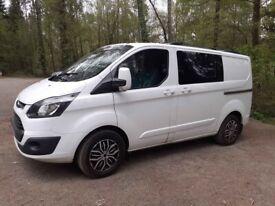 Ford, TRANSIT CUSTOM, Panel Van, 2014, Manual, 2198 (cc)