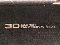 1000w JBL sub, Sony amp 480w