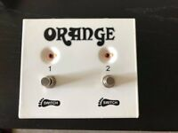 Orange Double Amp/Reverb Switch