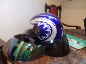 motorbike helmet M jacket XL winter piece plus pads + gloves