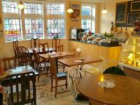 Vintage style tea room / coffee shop / cafe