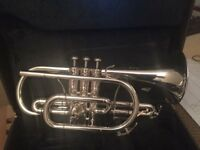 Yamaha Xeno Bb Cornet with hard case- Fully refurbished