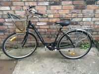 City bike with basket, good condition
