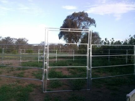 Round Yard For Horses - Steel Panels-Direct from the Manufacturer Parramatta Area Preview