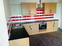 Brand new 2 bedroom ground floor flat with 2 bathrooms,NO DSS £950 PM