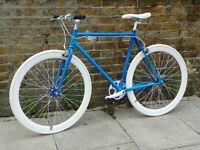 Brand new single speed fixed gear fixie bike/ road bike/ bicycles + 1year warranty & service 48