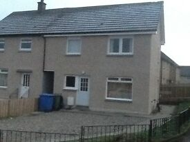 3 bedroom house to rent in Dennyloanhad, Bonnybridge. Near Falkirk