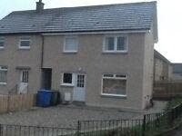 3 bedroom house to rent in Dennyloanhad, Bonnybridge. Near Falkirk