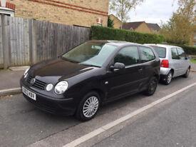 2003 VW POLO 3 DOOR MK3 FACELIFT 1.2 (A/C) PETROL, LADY OWNER, 9 MONTHS MOT, ONLY 56K