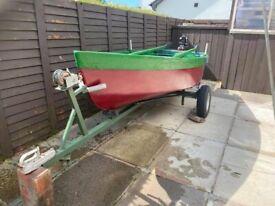 11 ft fibreglass boat