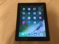 iPad 4th generation RETINA display 16GB Black WiFi in VGC