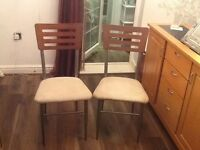 4x Chairs for Table