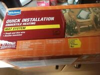 Wickes Quick installation undertile heating