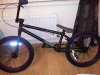 Amber Fathom BMX Bike