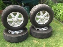 Rodeo RA rims 4x4 road tyres Elwood Port Phillip Preview