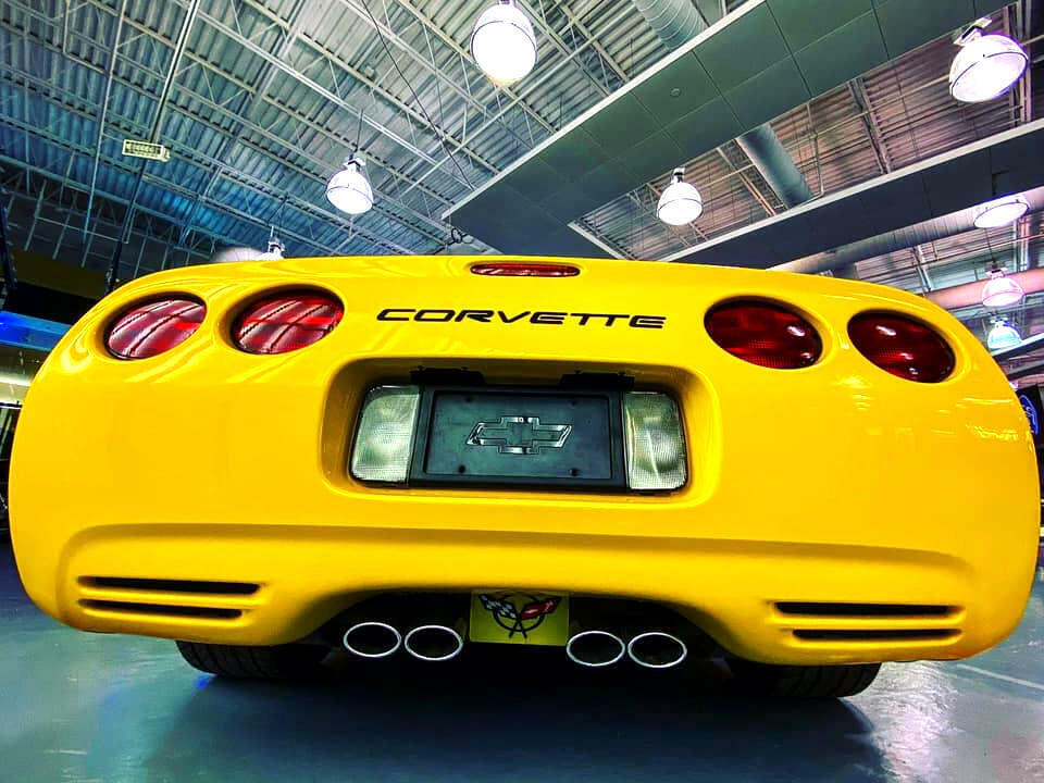 2002 Yellow Chevrolet Corvette Convertible  | C5 Corvette Photo 6