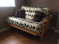 Beautiful Double Futon Sofa Bed for sale in great condition £200 ONO