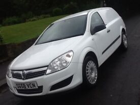 2008 VAUXHALL ASTRA VAN 1.3 CDTI NO VAT WITH LOW MILEAGE AND 12 MONTHS WARRANTY INCLUDED