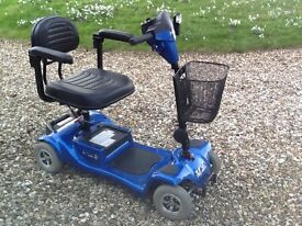 Monarch Mini 4 mobility scooter in excellent condition.