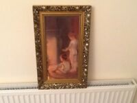 3 pictures for sale with lovely guilt frames