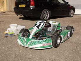 Tony Kart Micro Bambino Kart with Comer C50 engine