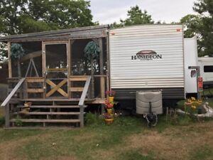 2014 Hampton Park Model trailer and lot