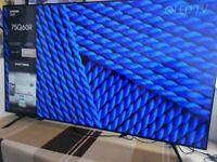 "Samsung 75"" QLED 4K HDR smart tv QE75Q60R"