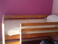 Cabin bed and furniture as a bundle only collection only