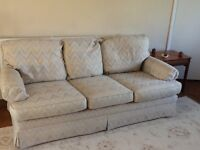 Free 3 seater sofa and 2 armchairs