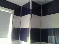 Wet wall Panels Cladding any 10 Panels £45. Black Black Sparkle Red White Galaxy Chrome Glasgow