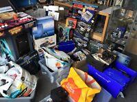Wanted; Nintendo, Sony, Sega, Microsoft, Atari Consoles & Video Games
